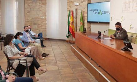 Diputación presenta el Plan DipuJaén Proactiva, con 15 grandes proyectos para optar a los fondos europeos