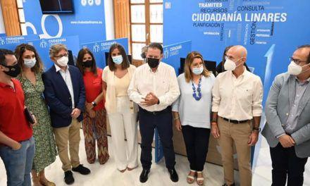 El Ayuntamiento de Linares muestra su nueva Oficina de Atención al Ciudadano