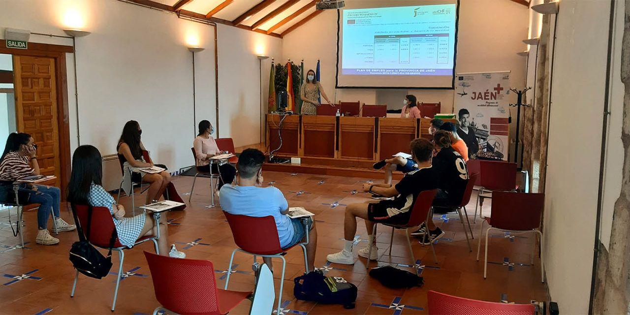 El programa Jaén+IV de la Diputación permite a una veintena de alumnos hacer prácticas en países de la UE