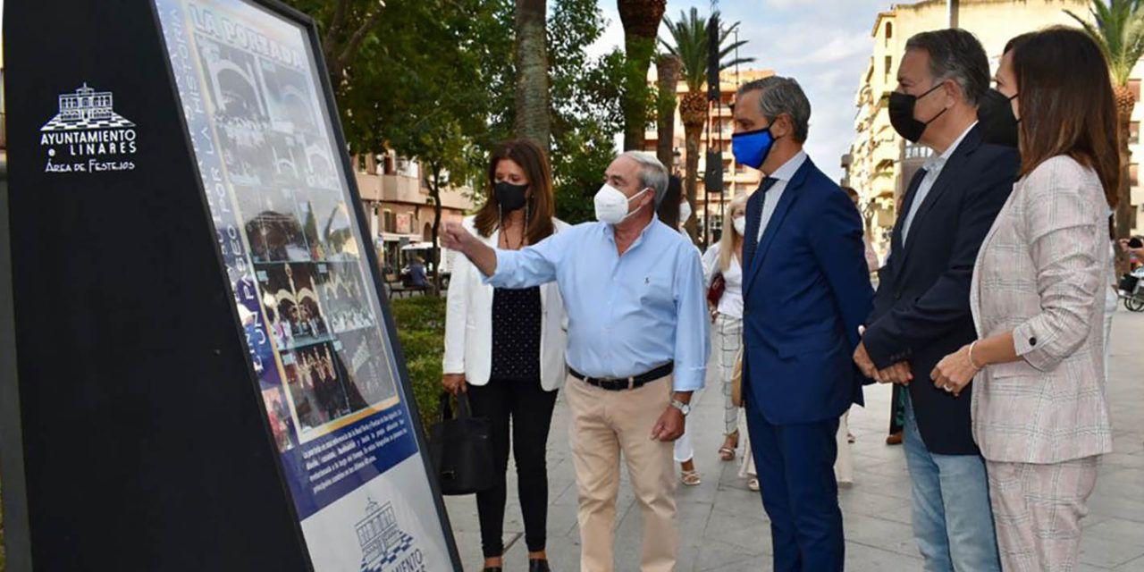 Juan Bravo clausura la muestra fotográfica del Paseo de Linarejos