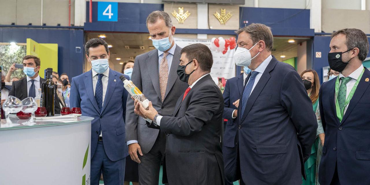 El Rey Felipe VI inaugura la XX Feria Internacional del Aceite de Oliva e Industrias Afines
