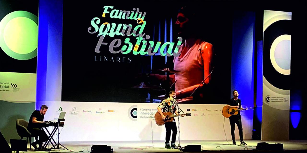 La banda linarense Shidow presentó su nuevo disco y un avance del Family Sound Festival en el Congreso Internacional de Innovación Social de Cádiz