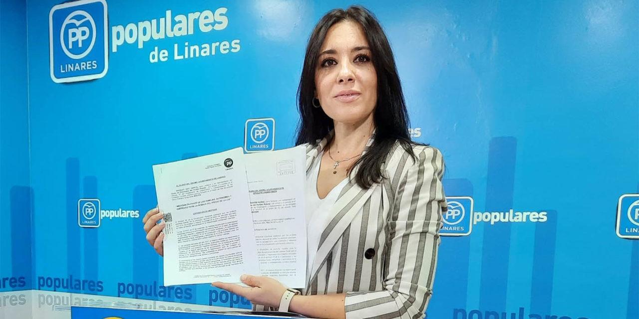 El PP de Linares lleva a Pleno la desorbitada subida de la factura eléctrica e inicia una campaña informativa